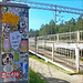 Railway station Solar, on the way to the beach. by KOMAР