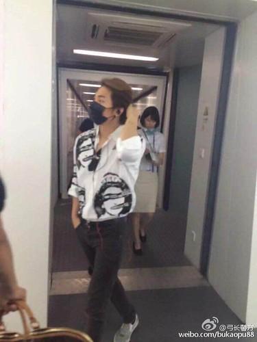 BIGBANG ARRIVAL 2015-08-07 Shenzhen by bukaopu88 (8)