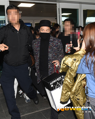 Big Bang - Incheon Airport - 22mar2015 - Tae Yang - Newsen - 01