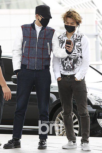 BIGBANG GDTOPDAE departure Seoul to Hangzhou Press 2015-08-25 116