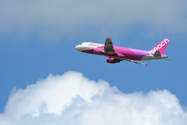 Peach Aviation, Airbus A320-200 JA807P NRT