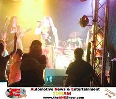 Always looking for entertainment, The ANE Show found @ Metal Shop Dallas playing a show!