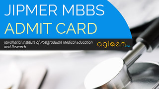 JIPMER MBBS 2016 Admit Card - Download Hall Ticket
