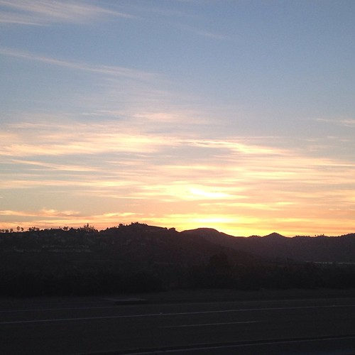 Just another Sunrise. Pomerado at i15. #bikecommute #GObyBIKEsd #bikemonthsd