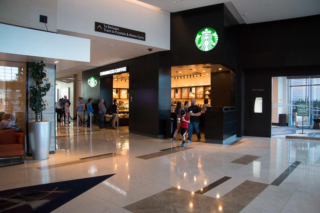 Lobby area at Vdara