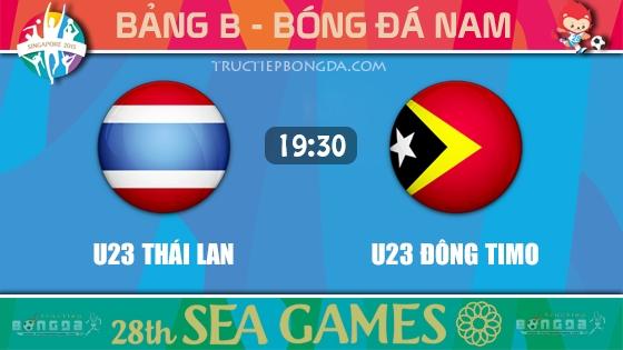 U23 Thái Lan vs U23 Đông Timo
