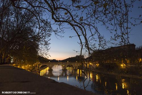 Roman unique sunset