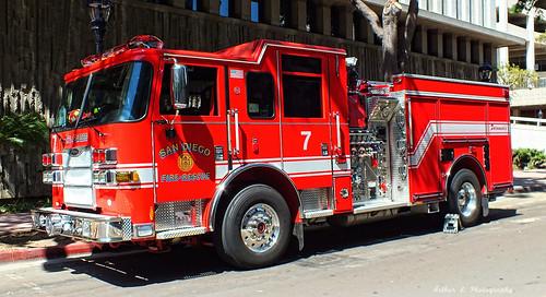 San Diego FD - Engine 7