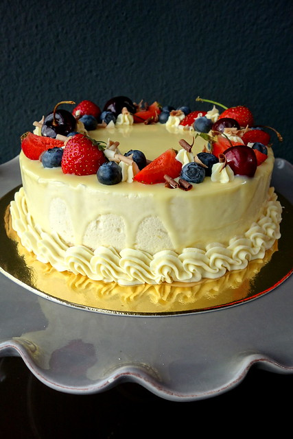Lemon-curd mousse