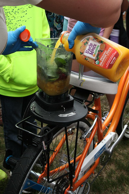 The Smoothie Bike