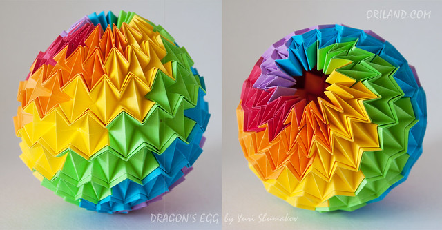 48-piece Dragons Egg in Rainbow Colours