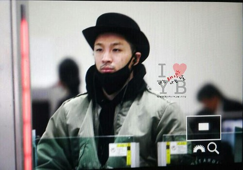 Big Bang - Gimpo Airport - 27feb2015 - Tae Yang - Urthesun - 05