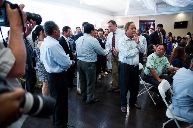 Ambassador Heidt S Visit To Long Beach U S Embassy In Cambodia