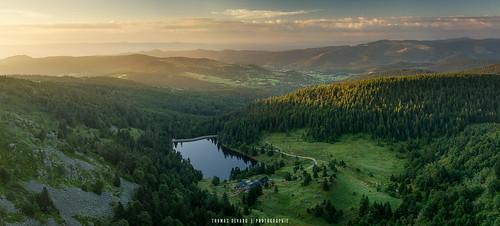 sunrise goldenhours vosges forlet lake nikon nisi alsace panoramic