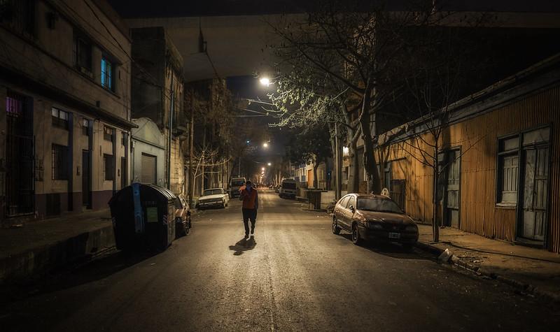 The streetwalker, La Boca