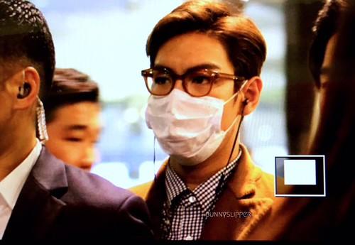 TOP Arrival Seoul 2015-11-06 bunnyslipper (1)