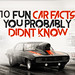 10 Fun Car Facts You Probably Didnt Know