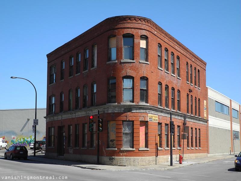 Red brick building on St Patrick 1