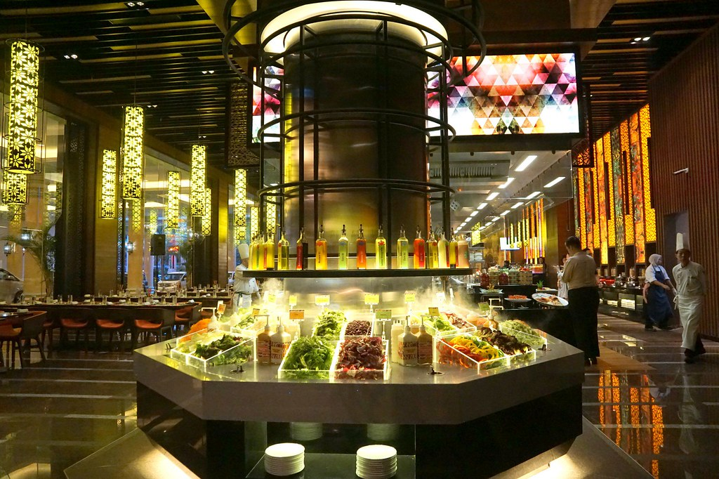 The resort cafe - sunway resort and spa - buffet