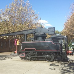 Steam crane at the Australian Technology Park #unfiltered #workdayout #history