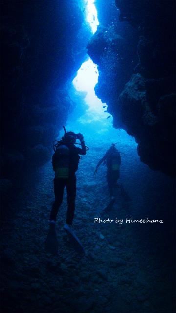 洞窟探検面白かったです!
