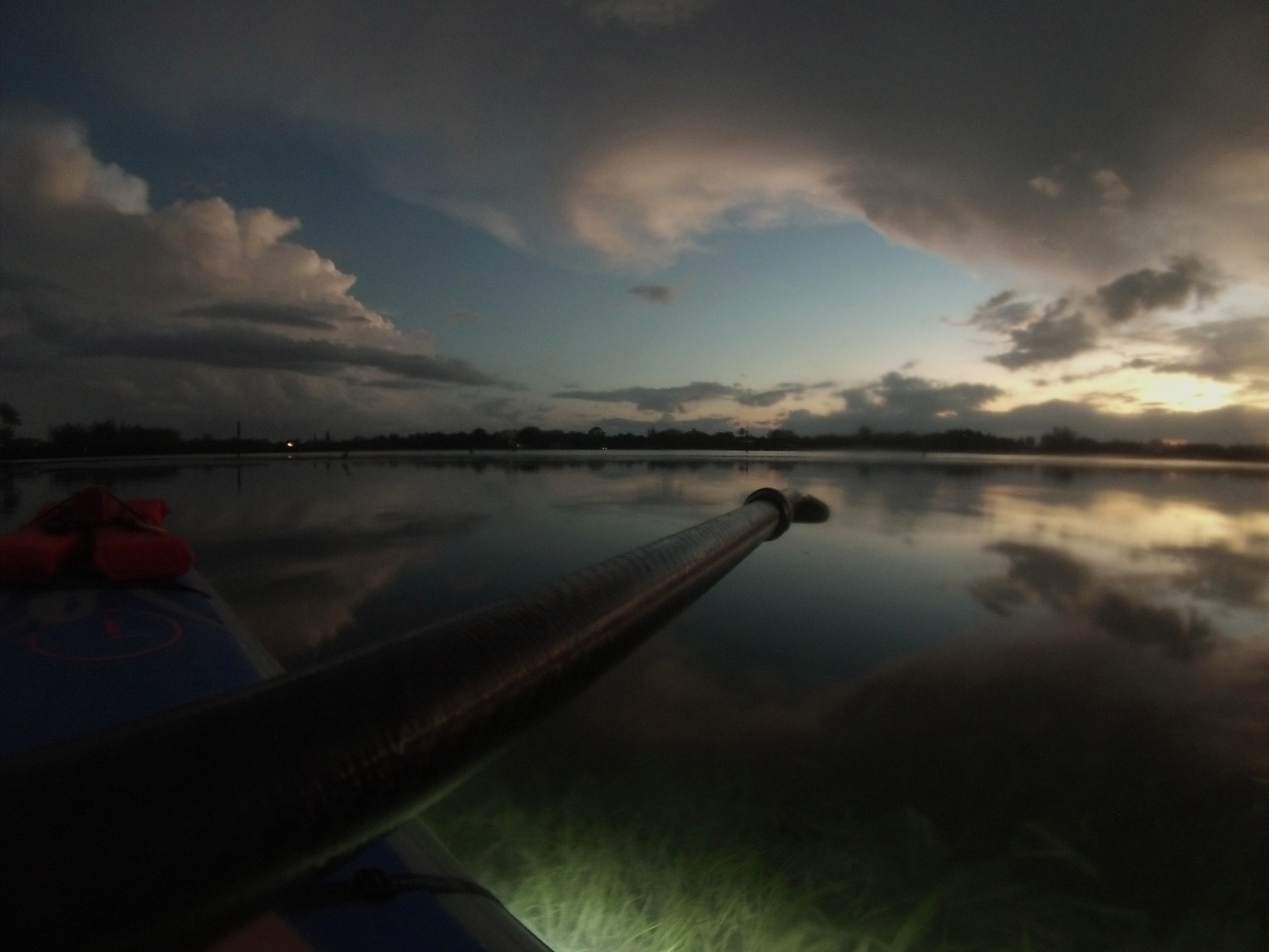 Night Time, Lighted Standup Paddle Boarding with Hooked on SUP, Placida, Fla., May 16, 2015