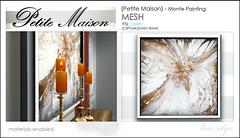 {Petite Maison} - Monte painting