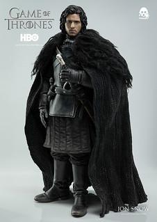 【官圖、販售資訊更新】threezero – 冰與火之歌:權力遊戲【瓊恩.雪諾】1/6 比例 Jon Snow
