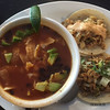 Tortilla soup and tacos at La Casita Gastown in Vancouver BC