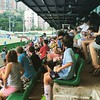 The crowd at the #hongkongsoccersevens @wellingtonphoenix in the semifinals later