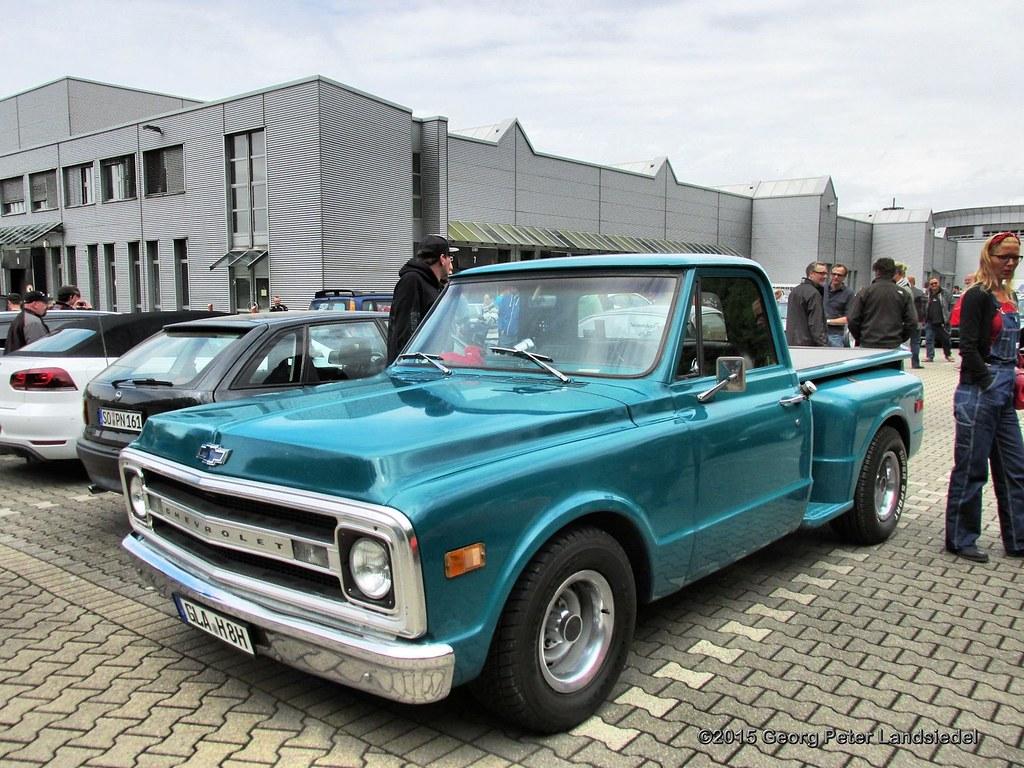 Chevrolet Pickup - Gelsenkirchen Zeche Nordstern_7056_2015-05-31