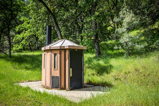 Schwanky outhouses - Deer Horn Campsite