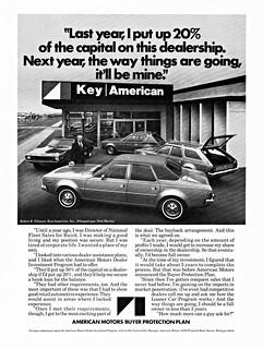 Key American, Albuquerque NM,  1972