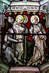 Christ heals a blind man