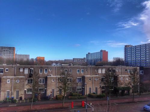Vlaardingen, city of flats