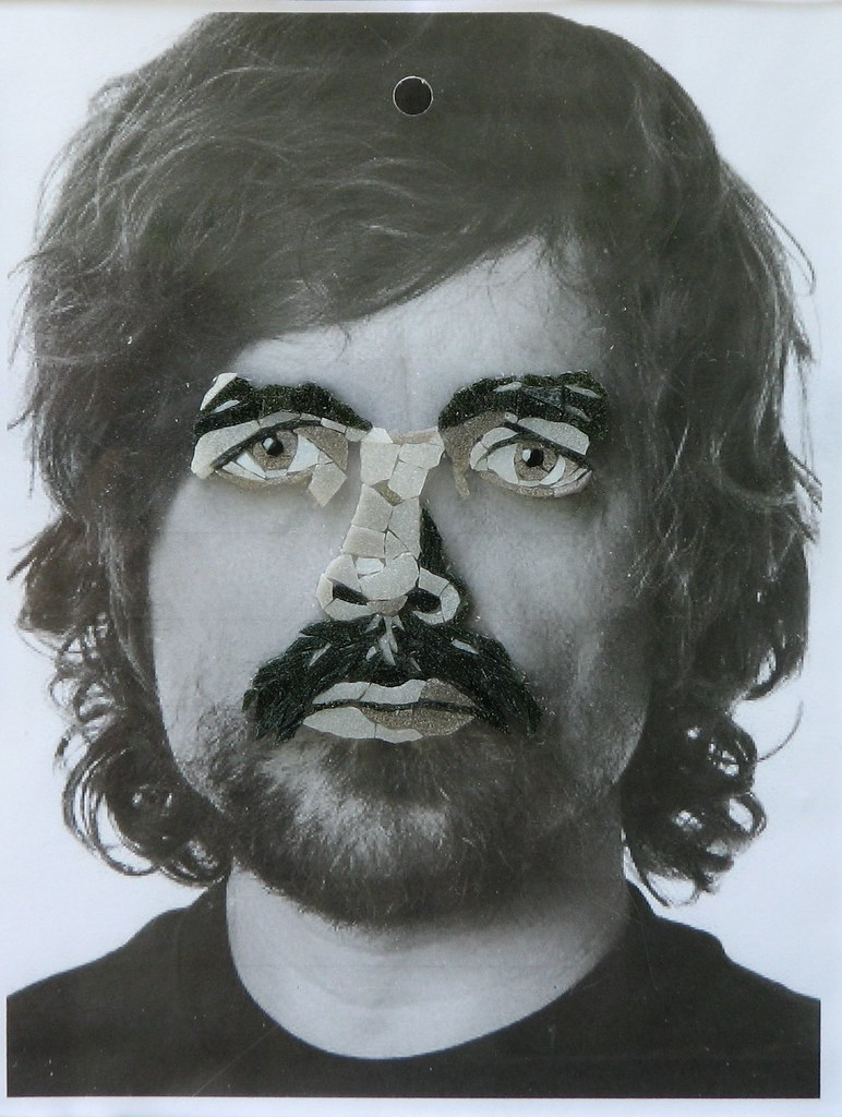Amy Wip wip peter dinklage | vitreous glass on acrylic, 8 1/2 x 11 i