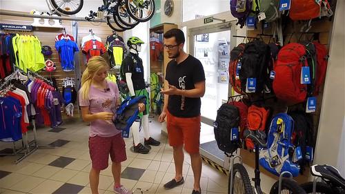 Bike SNOW tour speciál (3)  jaký vzít na kolo batoh  - Lyžařské ... aa28457f63
