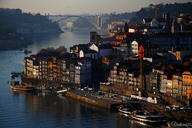 Мост Дона Луиша I. Порту. Ponte Luís I. Porto. Portugal