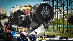 weight training, sport venue, strongman, sports, squat, muscle, barbell, crossfit, physical fitness, person, physical exercise,