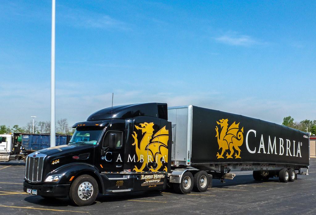 cambria long haul trucking u0026 39 s peterbilt