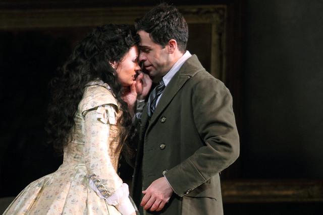Marina Rebeka and Ismael Jordi in La traviata © ROH, 2015. Photo by Catherine Ashmore