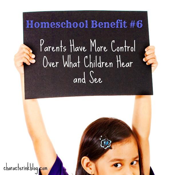 Homeschool Benefit #6