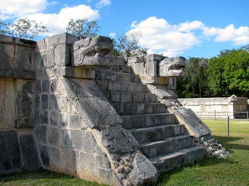 Plataforma de Águilas y Jaguares, Chichén Itzá