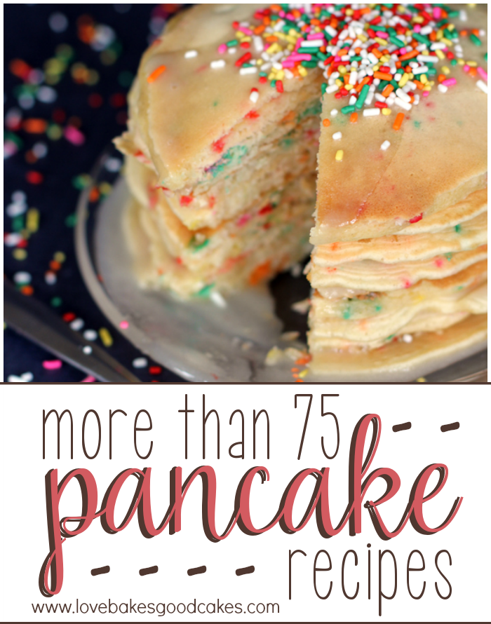 more than 75 Pancake recipes!