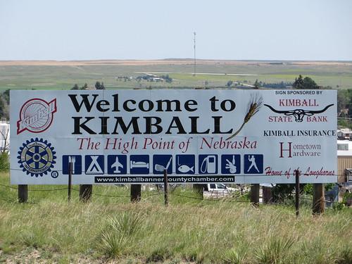 Welcome to Kimball, Nebraska