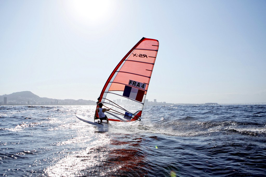 Test-Event Rio 2015 - Charline Picon_Copyright C. Launay-FFVoile