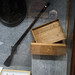 Small photo of Rifle and collection box of Alfred Russel Wallace
