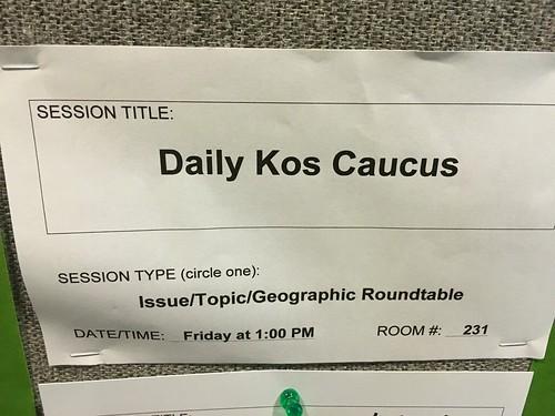 Daily Kos Caucus NN16
