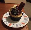 """Hallowe'en cupcake from """"Girl On A Swing"""""""