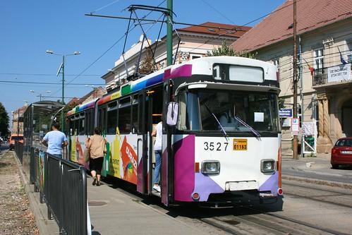 timișoara temesvár temeschwar banat romania românia europe city town urban street tram streetcar